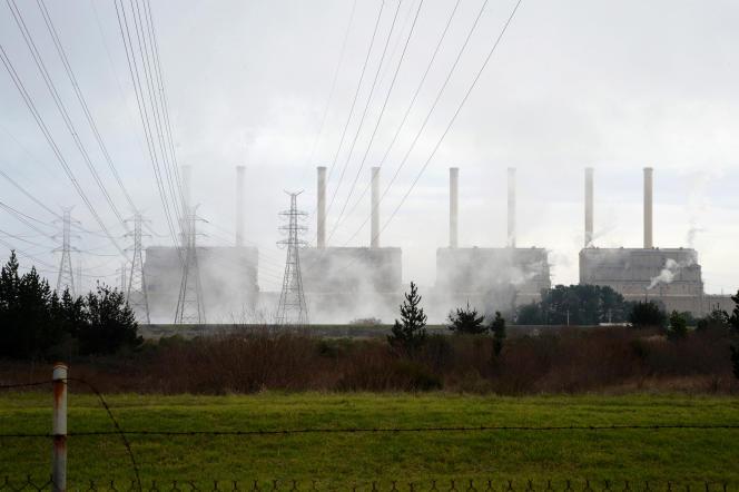 La centrale à charbon d'Hazelwood (Australie), en 2013.