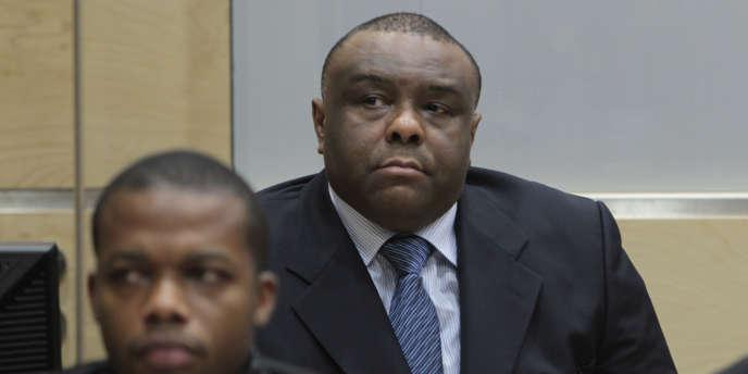 Jean-Pierre Bemba à la Cour pénale internationale de La Haye, le 19 octobre 2016.