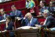 Valérie Rabault, rapporteure générale du budget, Michel Sapin, ministre des finances, et Christian Eckert, secrétaire d'Etat au budget, lors de la discussion sur le projet de loi de finances pour 2017, à l'Assemblée nationale, mercredi 19 octobre 2016.
