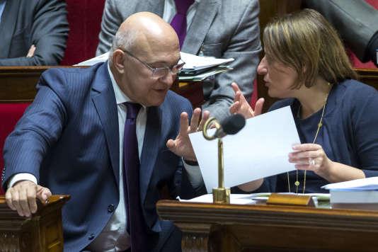 Le ministre de l'éconimie et des finances, Michel Sapin, le 19 octobre à l'Assemblée.