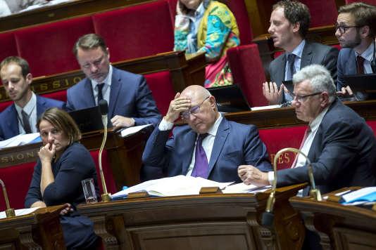Michel Sapin, à l'Assemblée nationale, le 19 octobre.