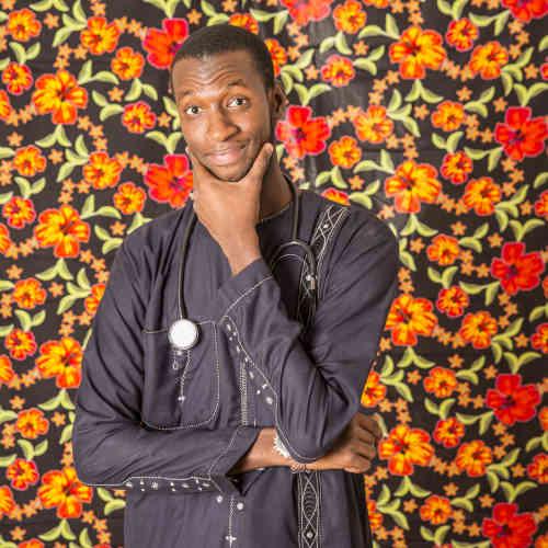 Serigne Modou Babou, 24 ans, 5e année de médecine, Université Cheikh-Anta-Diop (UCAD). « Rester zen et vivre pour les autres. »