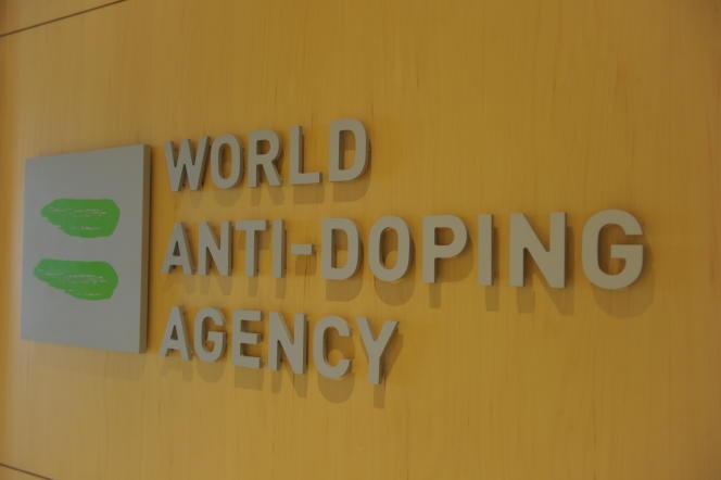 Photo du logo de l'agence prise au siège de l'organisation à Montréal, Canada, le 20septembre 2016.