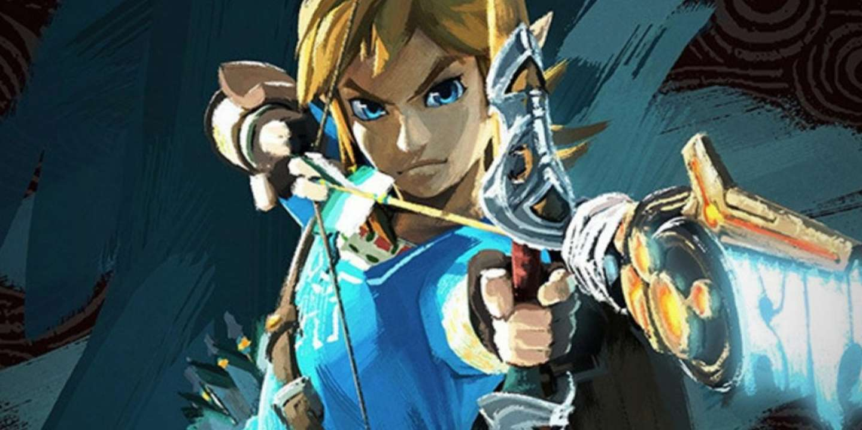 Link, dans Zelda Breath of the wild.