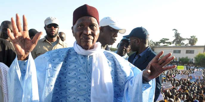 Abdoulaye Wade à Dakar en novembre 2014.