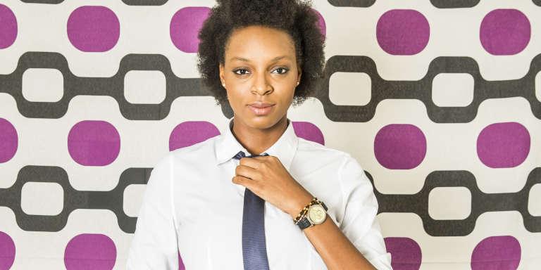 Salymata Sarr, 20 ans, 2e année deMBA à l'ISM de Dakar. «La meilleure manière de se lancer, c'est d'agir.»