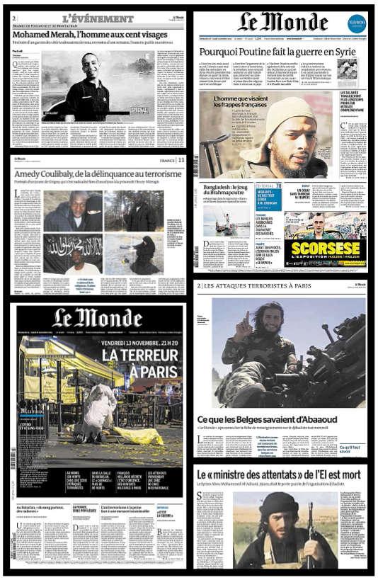 De Mohamed Merah (ici en 2012) à Abou Mohammed Al-Adnani en août 2016,« Le Monde» a souhaité faire évoluer ses choix de photos des auteurs d'actes terroristes.