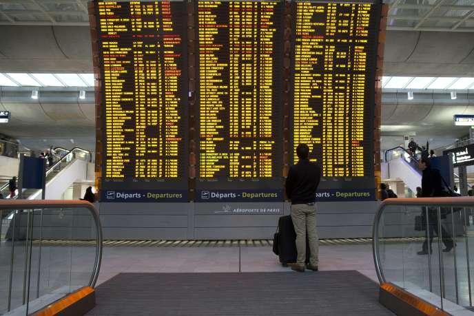Aéroport Roissy Charles-de-Gaulle, janvier 2016.