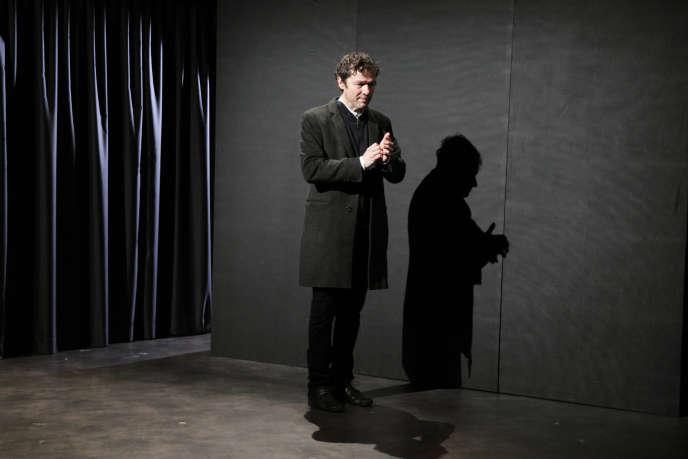 Jérôme Kircher dans «Le Monde d'hier », de Stefan Zweig, adapté par Laurent Seksik au Théâtre des Mathurins à Paris.