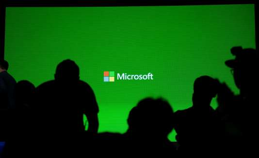 Réunion de présentation de Microsoft à Shangaï le 21 octobre.