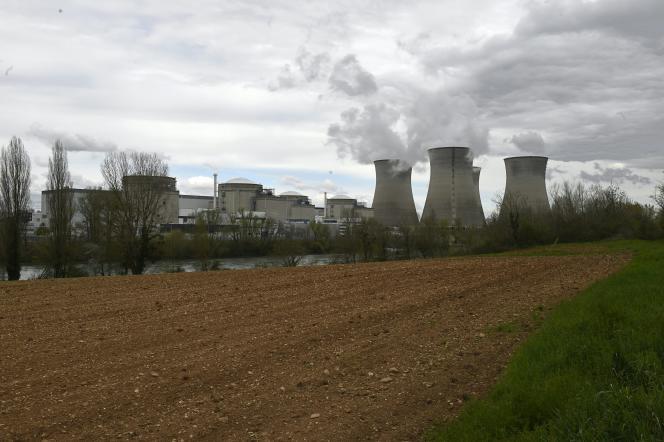 Le réacteur nucléaire de Bugey, le 8 avril 2016.