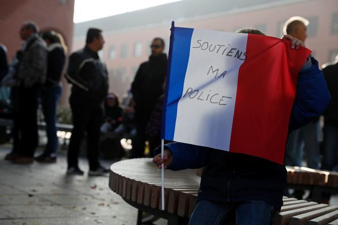 Les manifestations de policiers se sont poursuivies les 22 et 23 octobre dans toute la France.