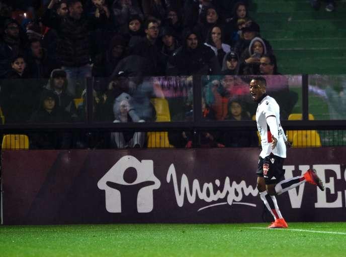 Alassane Plea totalise déjà six buts en dix journées de Ligue 1.