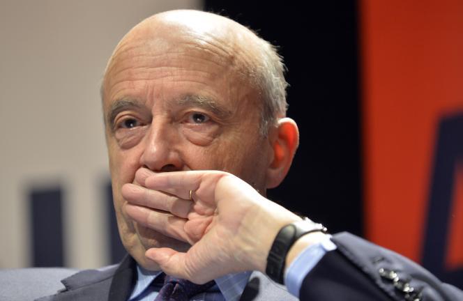 Alain Juppé, le 22 octobre.