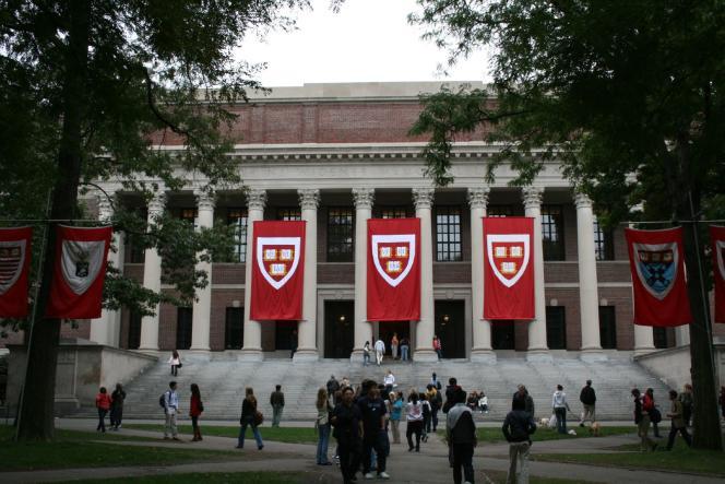 L'université Harvard (Massachusetts).