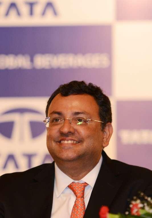 Cyrus Mistry, ancien patron du groupe indien Tata, en août, à Caclutta.