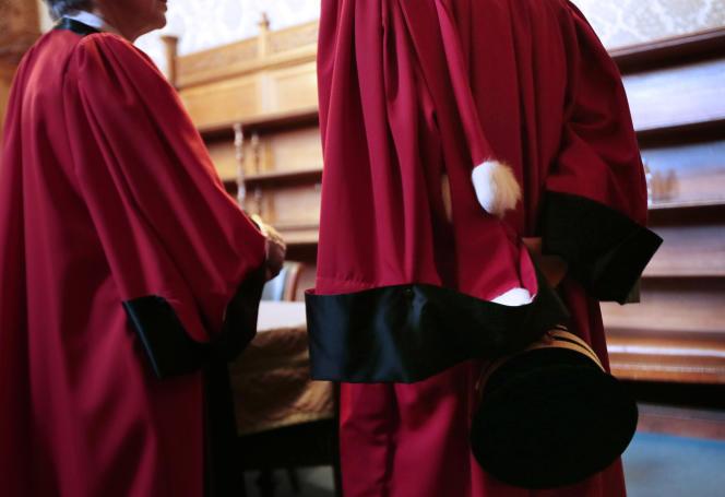 Au tribunal de grande instance de Paris, en 2014.