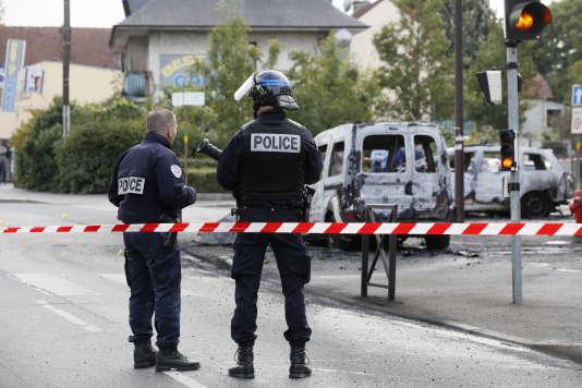 Les policiers ont été agressés le 8octobreà un carrefour à problèmes en bordure de la cité difficile de la Grande Borne.
