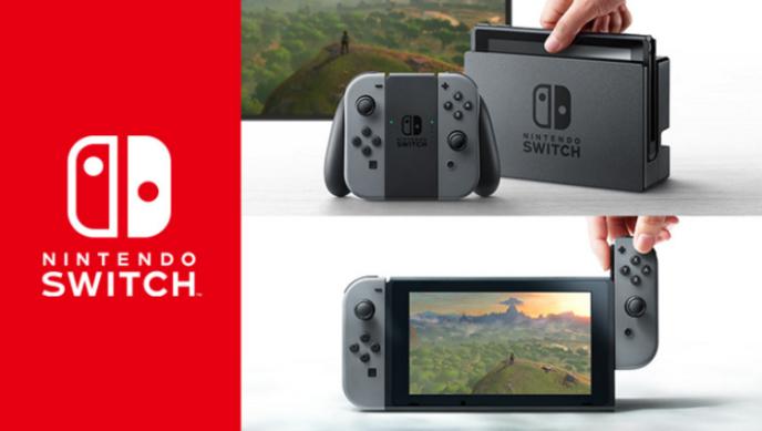 La Switch, une tablette tantôt sur station d'accueil pour y jouer sur TV, tantôt équipée de demi-manettes clipsables pour l'emporter.