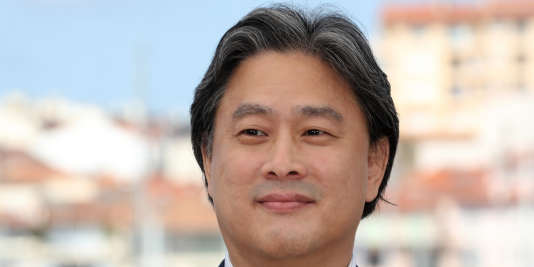 Park Chan-wook à Cannes,le 14 mai 2016