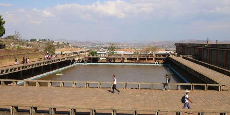 Vue de l'université d'Antananarivo, du haut de la fac de médecine.