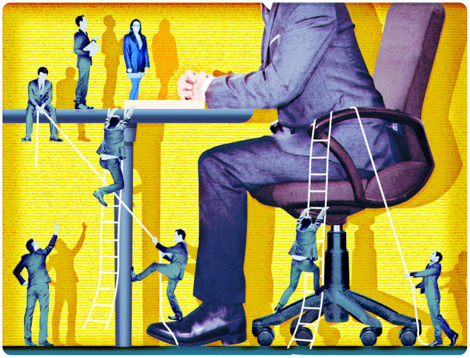 «Pour retenir les talents, des grandes entreprises ont mis en place des réseaux de jeunes embauchés» (Dessin : Nini la Caille).