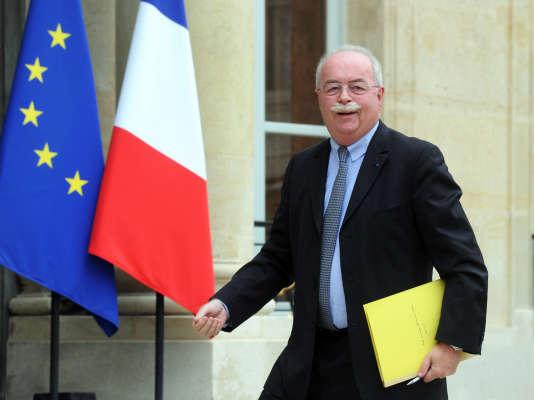 Christophe de Margerie à l'Elysée, en juin 2014.