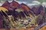 « Vue de Davos » (1924), d'Ernst Ludwig Kirchner.