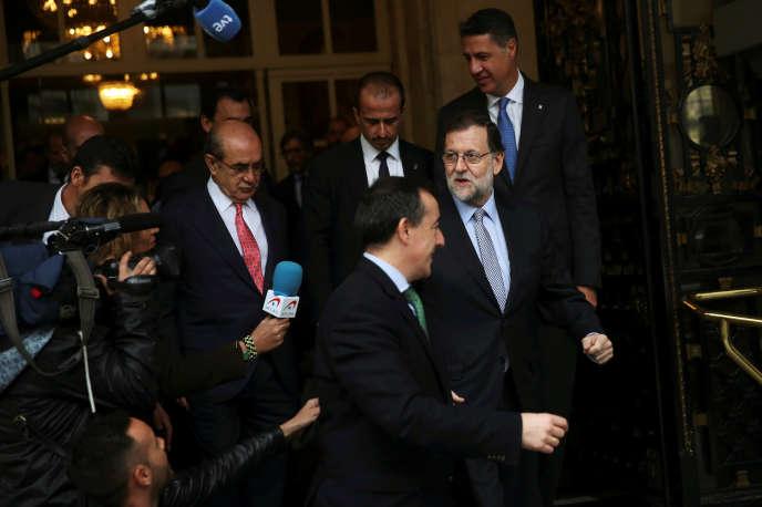 Mariano Rajoy, à Madrid, le 24 octobre.