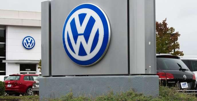 Une concession Volkswagen à WoodbridgeenVirginie(Etats-Unis), le29 septembre 2015.