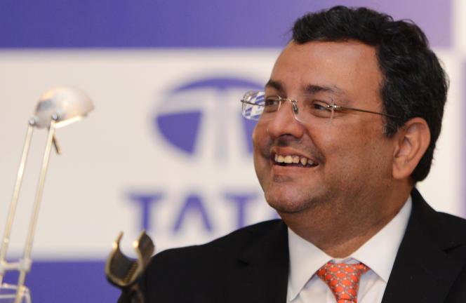 Cyrus Mistry l'ex-PDG du groupe indien Tata, le 24 août 2016.