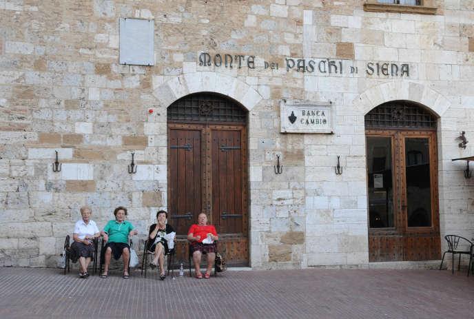 Dans le village de San Gimignano, en Toscane, en septembre 2013.