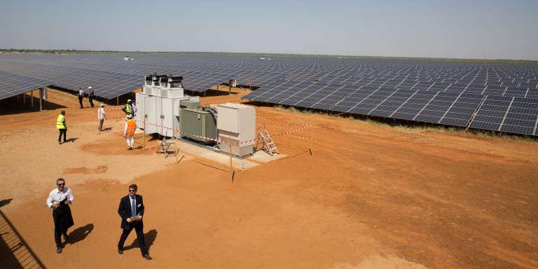 La centrale de Senergy 2, au nord du Sénégal, s'étend sur 40 hectares.