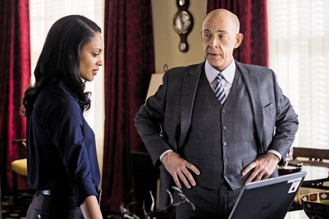 Cynthia Addai-Robinson,assistante malmenée deJ.K. Simmons, dans«Mr Wolff».