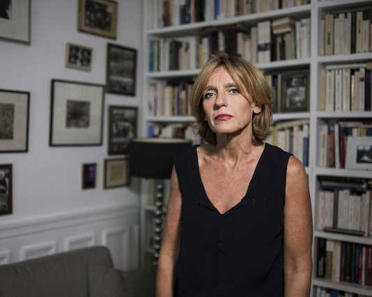 Agnès Chauveau, photographiée chez elle.