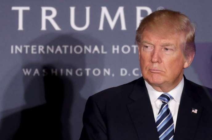 « J'aurai [mis] plus de 100 millions dans la campagne, et je suis prêt à en mettre beaucoup plus », a déclaré Donald Trump.