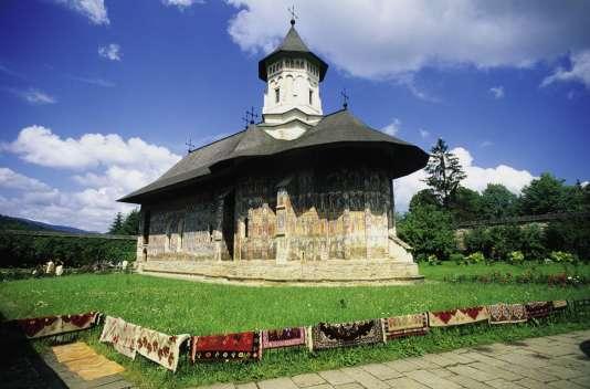 L'église du monastère Moldovita.