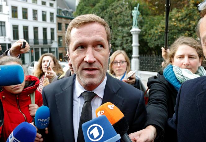 Le ministre-président de Wallonie, le socialiste Paul Magnette, en octobre 2016