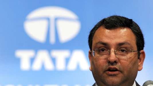 L'ancien PDG du groupe Tata, Cyrus Mistry, à Bombay (Inde), le 27 juin 2014.