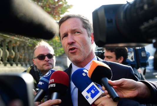 Le ministre-président de Wallonie, Paul Magnette, mercredi 26 octobre.