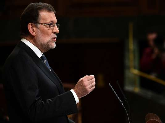 Le premier ministre espagnol par intérim, Mariano Rajoy.