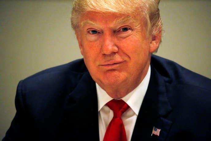 Donald Trump à Miami, en Floride, le 25 octobre 2016.