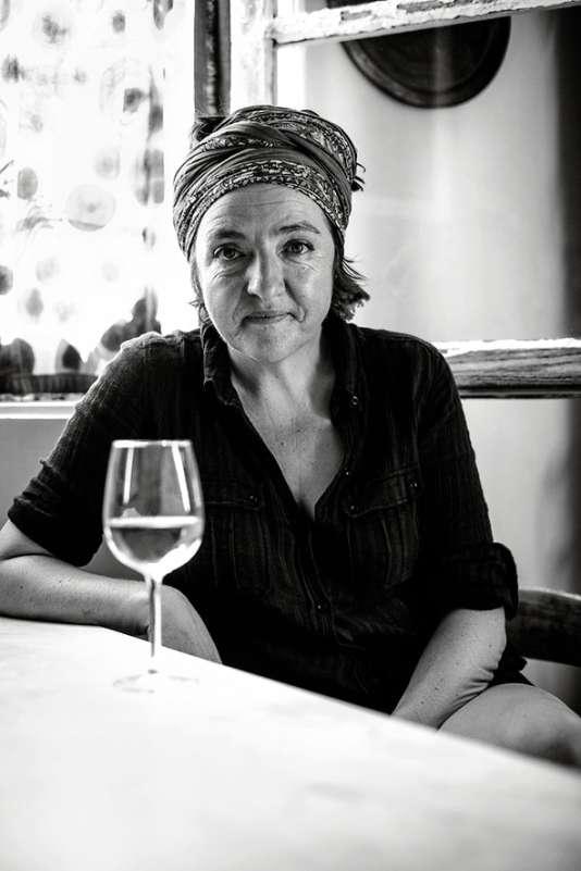 Sylvie Augereau, vigneronne dans le Maine-et-Loire.