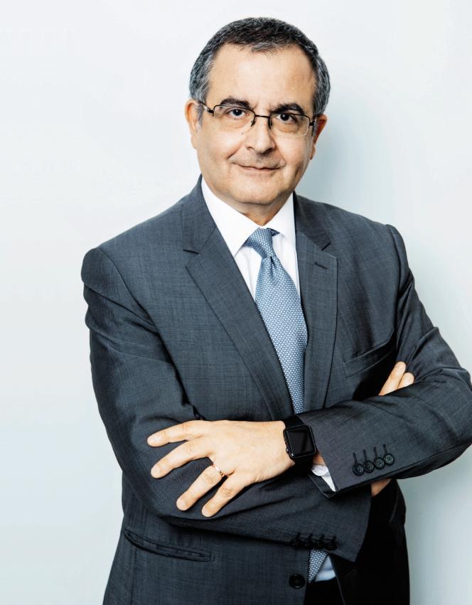 Serge Nedjar, directeur de la chaîne i-Télé.