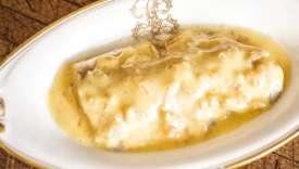 Un poisson de rivière avec une belle sauce au beurre blanc.