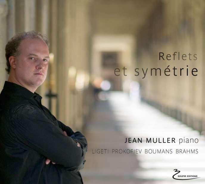 Pochette de l'album« Reflets et symétrie», deJean Muller.