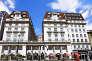 L'Hôtel Sheraton Grand de Londres.