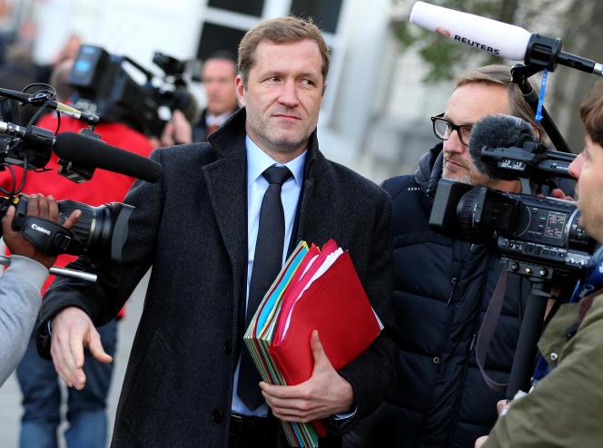 Le ministre-président de la Wallonie Paul Magnette à Bruxelles le 25 octobre 2016.