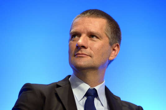 Le patron de l'Agence nationale de sécurité des systèmes d'information, Guillaume Poupard, en octobre 2015 à Paris.