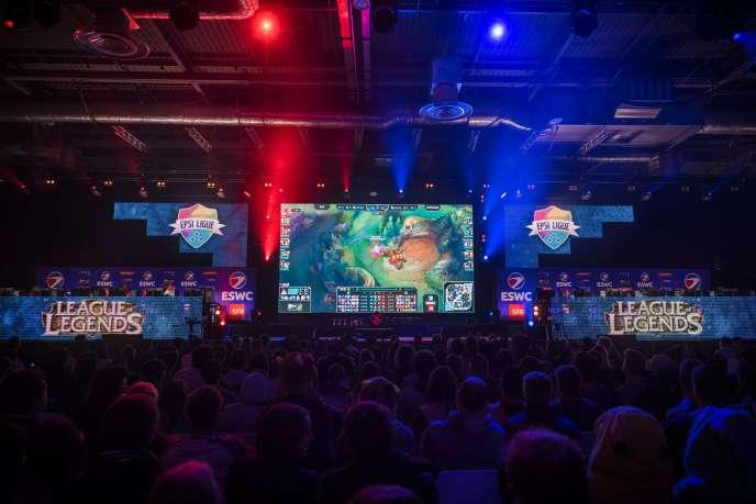 Le jeu« League of Legends» est l'un des plus populaires de l'e-sport.